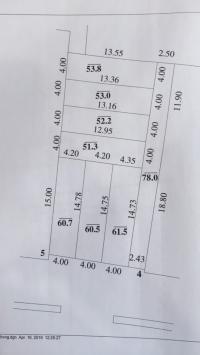Chính chủ bán 482m2 đất xóm 3,  Vân Nội, Đông Anh, 0947811868